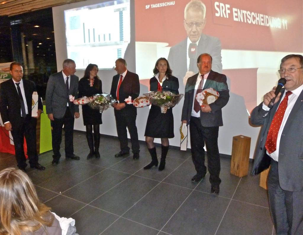 Wahltreff SVP des Kantons Luzern mit Yvette Estermann